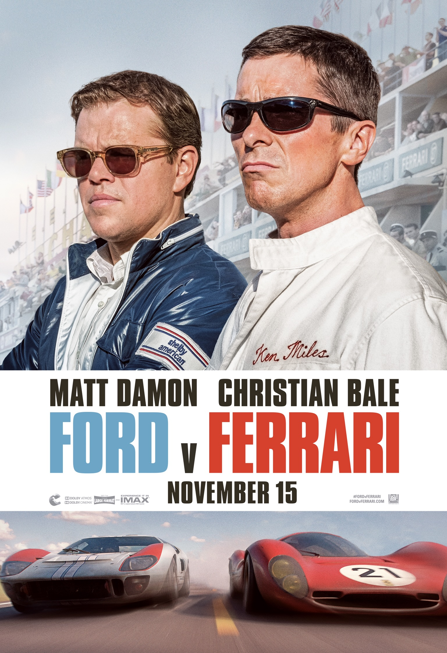 Vs フェラーリ フォード